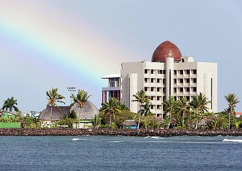 Ramunas Bruzas - Apia Town Skyline