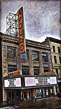 Apollo Theatre, Harlem by Joan Reese