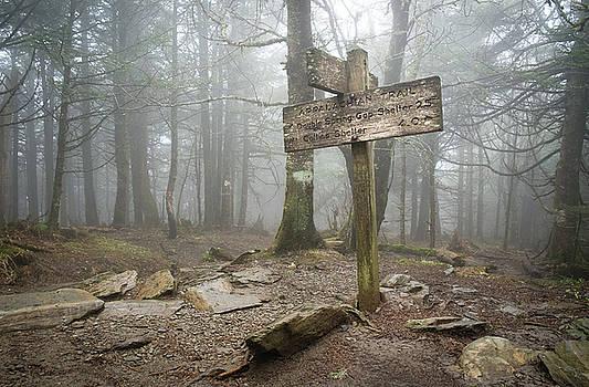 Mary Lee Dereske - Appalachian Trail Sign