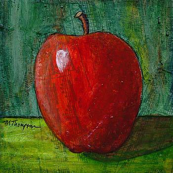 Apple #4 by Mary Elizabeth Thompson
