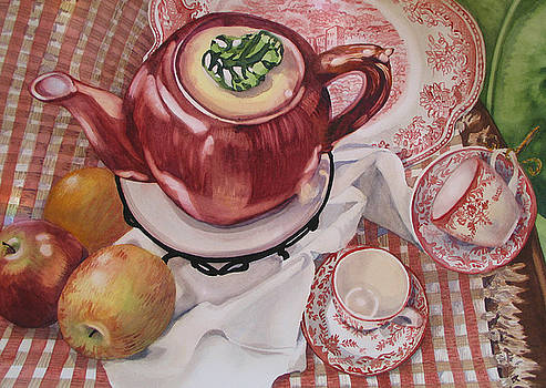 Apple Afternoon by Carole Poole