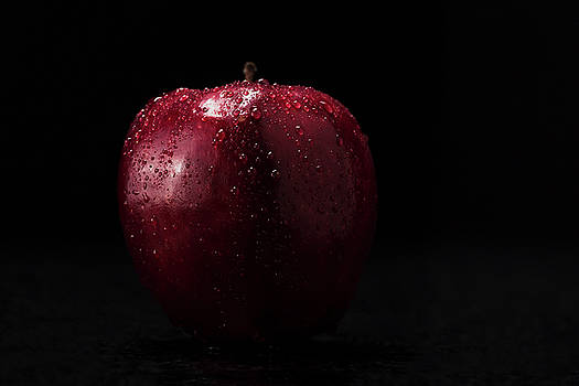 Apple condensation by Gary Campbell