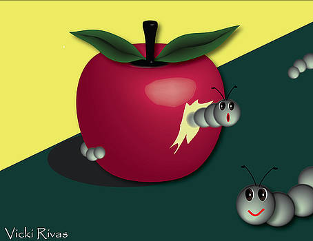 Apple Fun by Vicki Rivas
