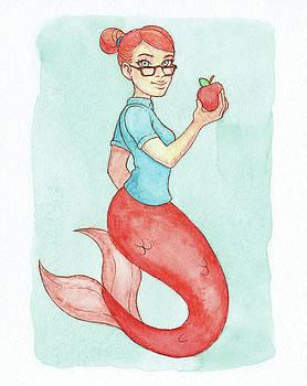 Apple Mermaid - MerMonday September 3rd 2018 by Armando Elizondo