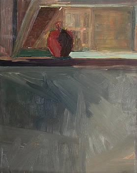 Apple on a Sill by Daun Soden-Greene