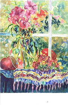Apple on the Outside by Ann  Nicholson