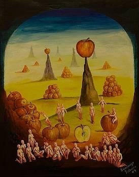 Apple Rising by Santiago Ribeiro