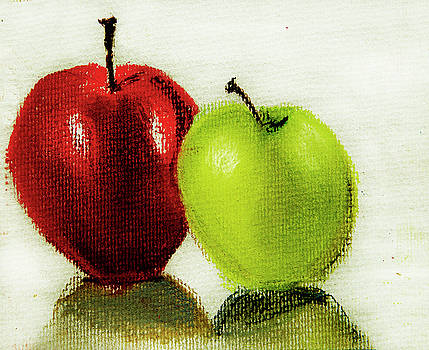 Apple Study by Linde Townsend