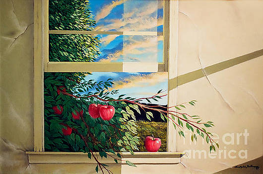 Christopher Shellhammer - Apple tree overflowing