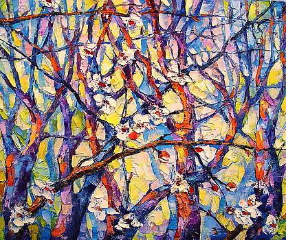 Apple Trees by Keren Gorzhaltsan