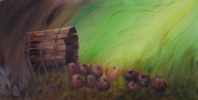 Apples anyone by John Johnson