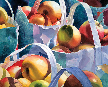 Apples for Sale by Kathy Armstrong