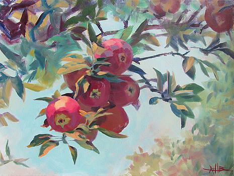 Apples on the Tree by Azhir Fine Art