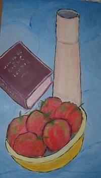 Apples Vase Book by Bernard Victor