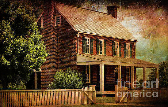 Appomattox Court House by Liane Wright by Liane Wright