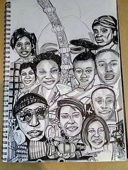 Appreciating The Certainties In My Life - Mark One by Mudiama Kammoh