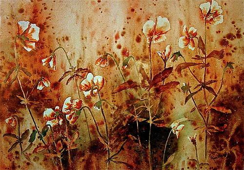 Autumn Floral by Carolyn Rosenberger