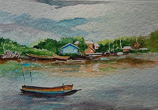 Approaching Baratang by Prakash Sree S N
