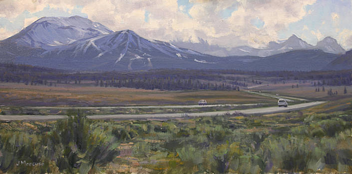 Approaching Mammoth Lakes by Joe Mancuso
