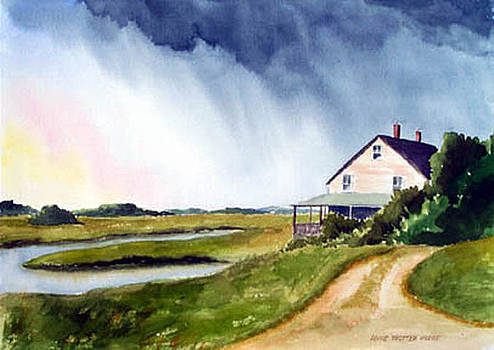 Approaching Storm by Anne Trotter Hodge