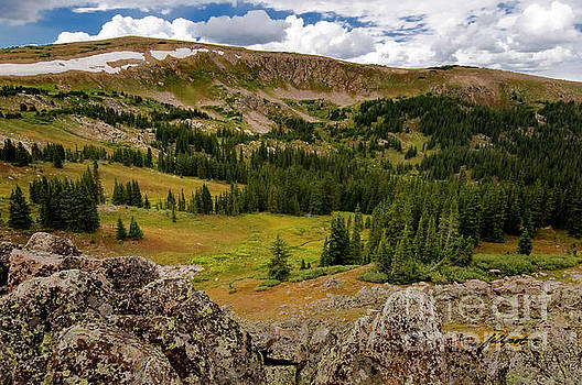 Approaching the Great Divide by Jim Fillpot