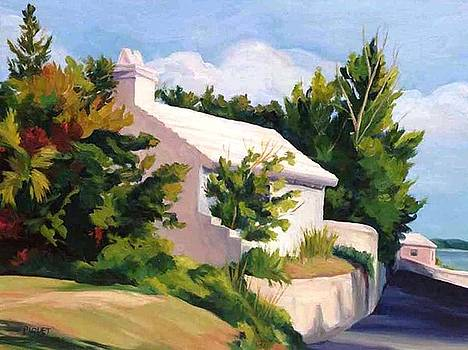 Approaching Town St  Georges by Rita-Anne Piquet