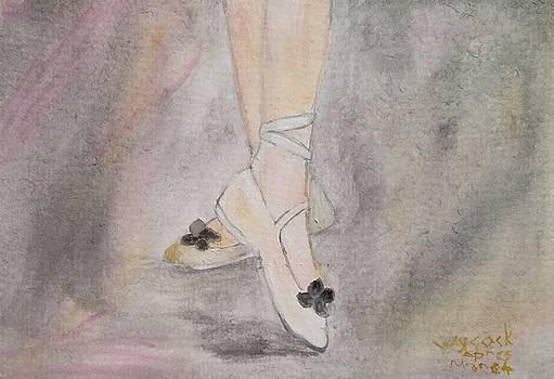 Apres' Manet Chaussons de Danse by Sallie Wysocki