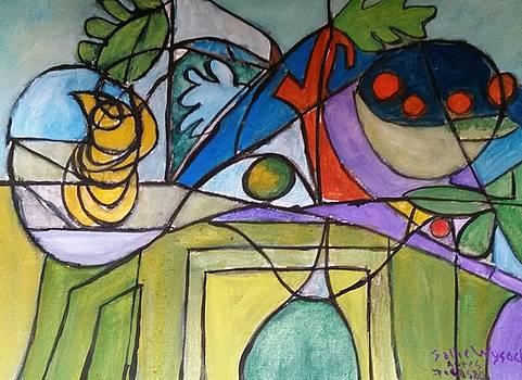Apres' Picasso by Sallie Wysocki