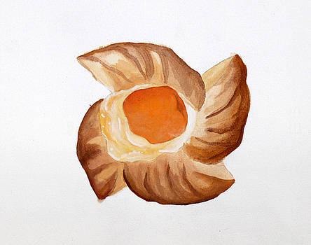 Apricot Pastry by Michelle Fattibene