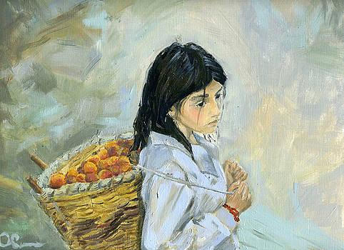 Apricots by Lelia Sorokina