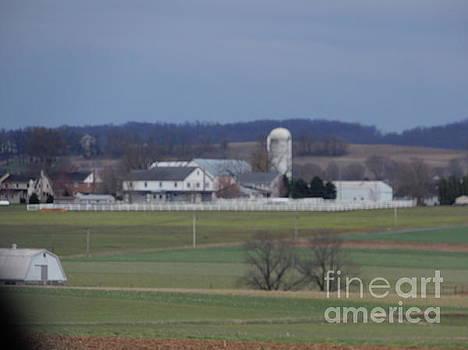 Christine Clark - April Amish Homestead Vista