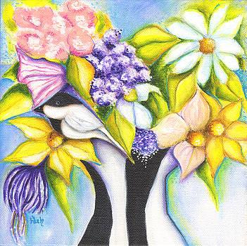 April Flowers by Deb Harvey