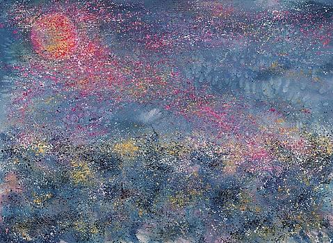 April Full Pink Moon by Robin Samiljan