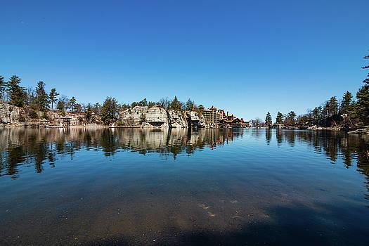 April Morning at Lake Mohonk by Jeff Severson