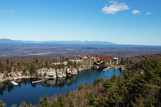 April Morning at Mohonk by Jeff Severson