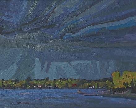 April Rain Clouds by Phil Chadwick