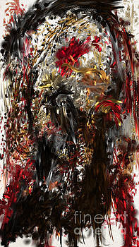 April Skull by Reed Novotny