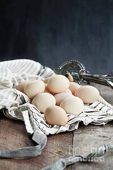 Apron and Eggs by Stephanie Frey
