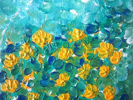 Aqua Bloom by Rakhee Krishna