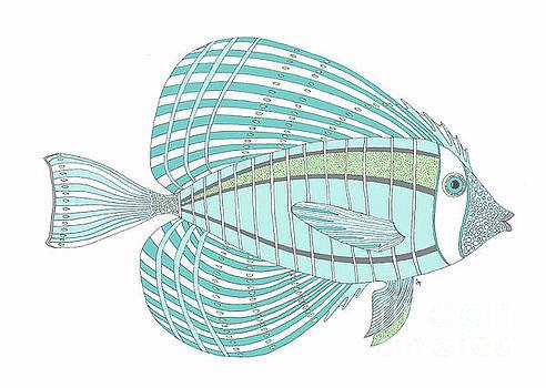 Aqua Fish by Stephanie Troxell