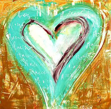 Aqua Heart  by Ivan Guaderrama