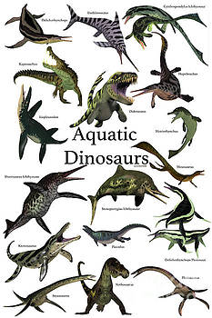 Aquatic Dinosaurs by Corey Ford