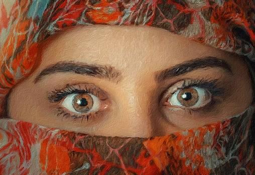Arabian beauty by Vincent Monozlay