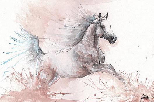 Arabian horse 2017 08 01 by Angel Tarantella