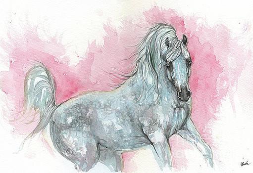 Arabian horse 2017 08 04 by Angel Tarantella