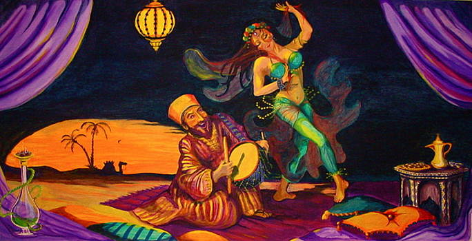 Yvonne Ayoub - Arabian Nights