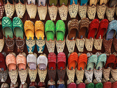Arabian Shoes by Pauline Cutler
