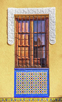 David Letts - Arabic Window of Spain II