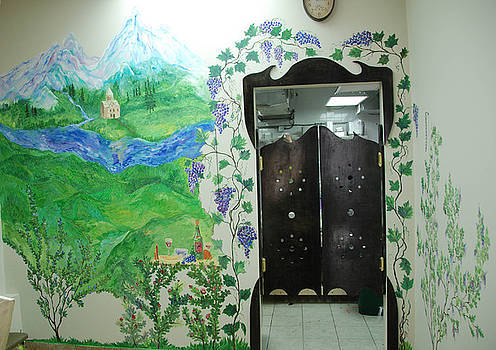 Aragvi mural by Katerina Atapina