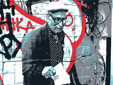 Arbat Graffiti by Shay Culligan